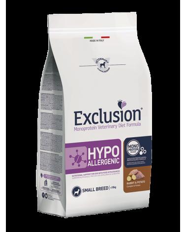 Exclusion Diet Hypoallergenic Coniglio e Patate Small Breed