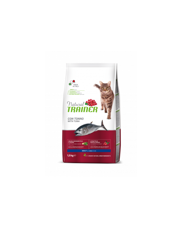 Natural Trainer Cat Adult al Tonno 1.5 kg