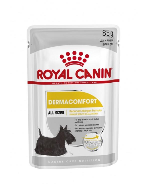 Royal Canin Dog Dermacomfort Adult Mini Bustine Loaf in Salsa 85 g