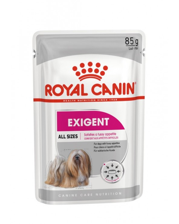 Royal Canin Dog Exigent Care Adult All Breeds Bustina Loaf in Salsa 85 g