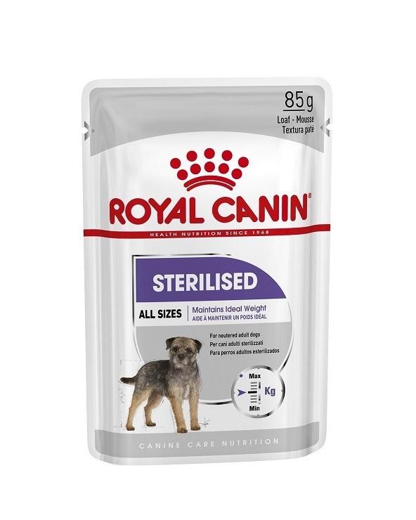 Royal Canin dog Sterilised Care Adult All Breeds Bustina Loaf in Salsa 85 g