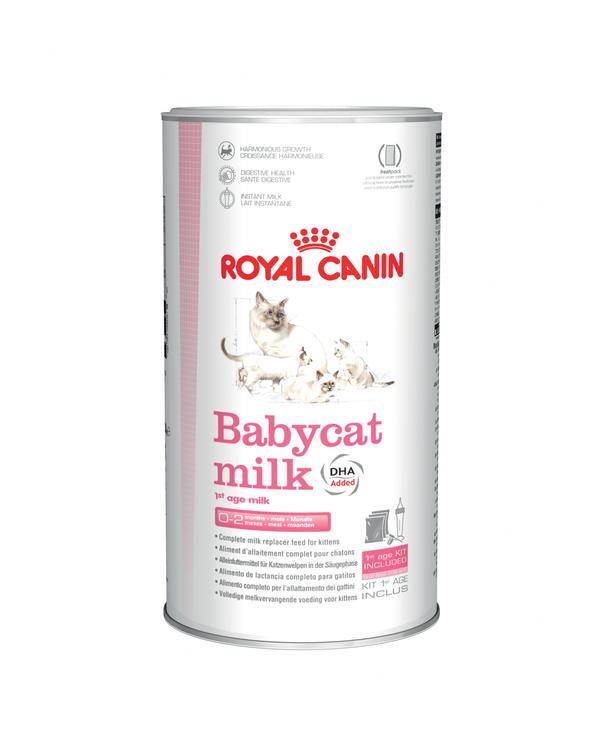 Royal Canin Cat Babybcat Milk LAtte in Polvere per lo Svezzamento dei Gattini 300 g