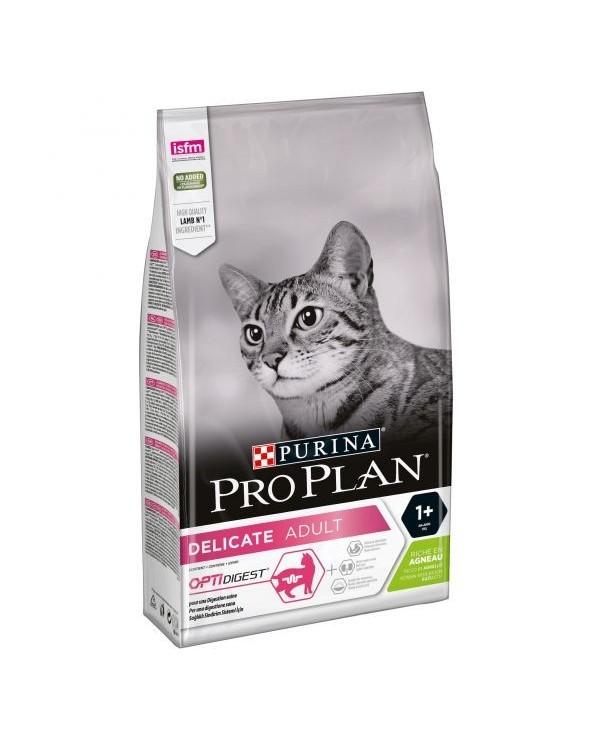 Pro Plan Cat Adult Delicate OptiDigest con Agnello e Riso 1,5 kg