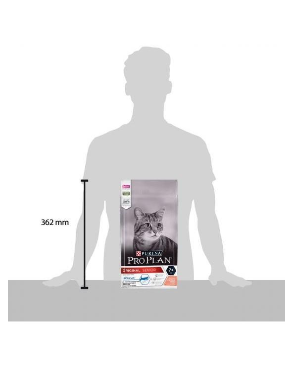 Pro Plan Cat Original Senior 7+ con Salmone e Riso 1.5 kg