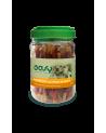 Oasy Dog Snack per Cani Involtini di Anatra e Pelle Bovina Barattolo 350 g