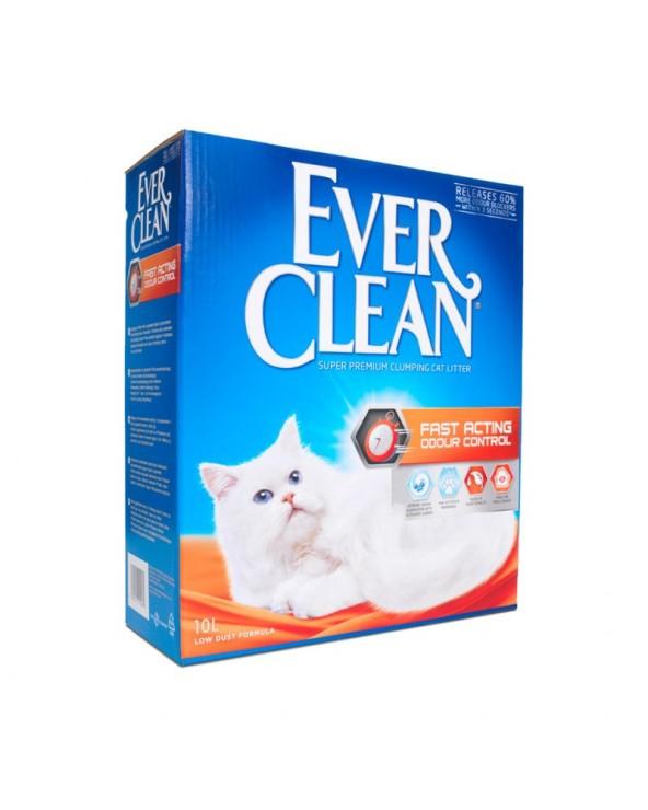 Ever Clean Fast Acting Odour Control Lettiera Agglomerante per Gatti 10 Lt
