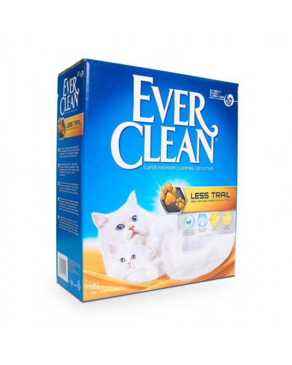 Ever Clean Lettiera per Gatti Agglomerante Less Trail 10 Lt