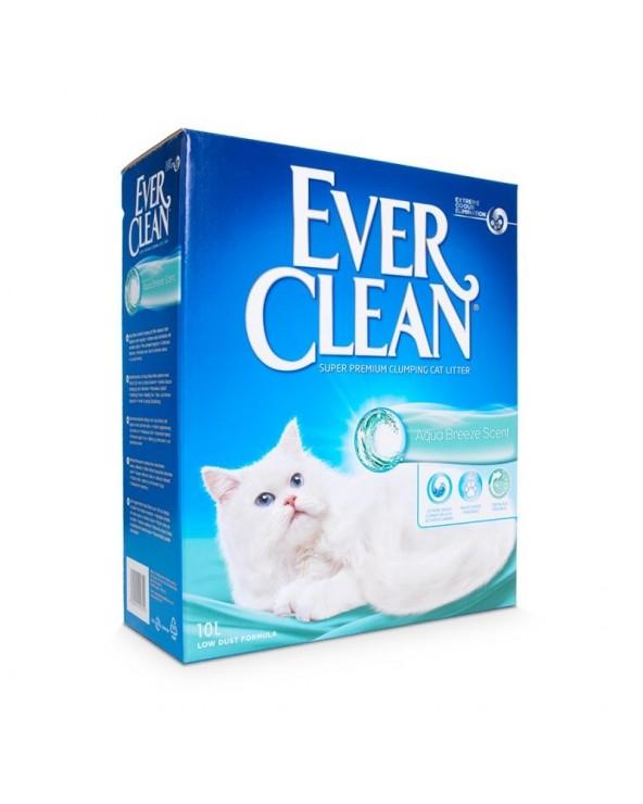 Ever Clean Aqua Breeze Lettiera Agglomerante Profumata per Gatti 10 Lt