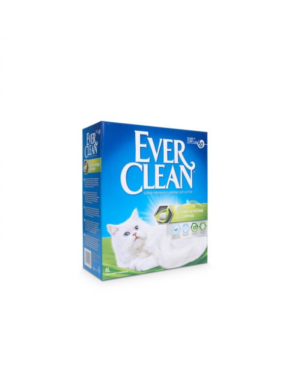 Ever Clean Extra Strong Clumping Scented Lettiera Agglomerante per Gatti 6 Lt