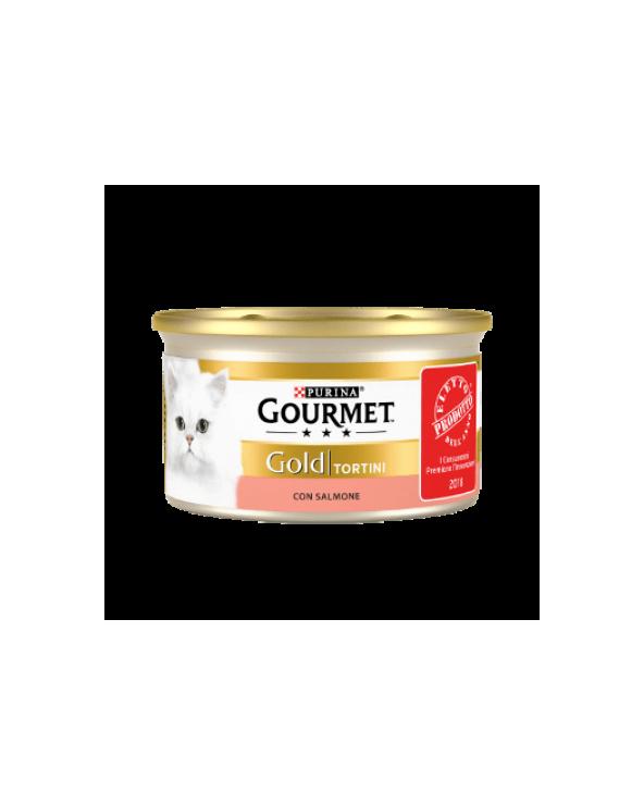 Gourmet Gold Tortini con Salmone 85 g