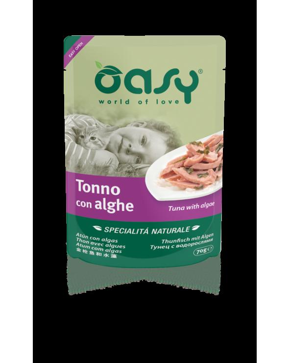 Oasy Cat Specialità Naturali Tonno con Calamari 70 g