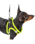 Ferplast Pettorina Ergonomica per Cani Kaori Giallo Fluo - Varie Misure