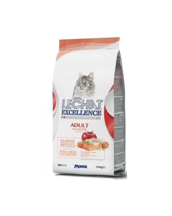 LeChat Excellence Adult con Salmone Riso e Mele 1.5 kg