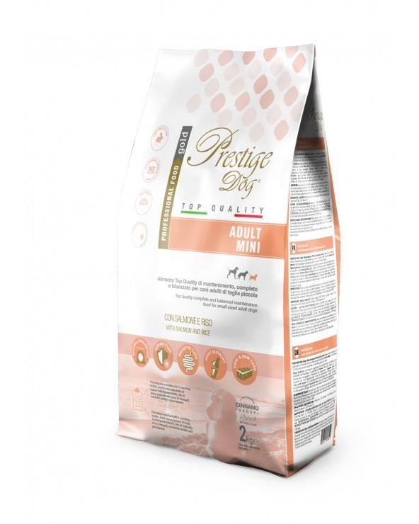 Prestige Dog Adult Mini Monoproteico Salmone e Riso 2 kg