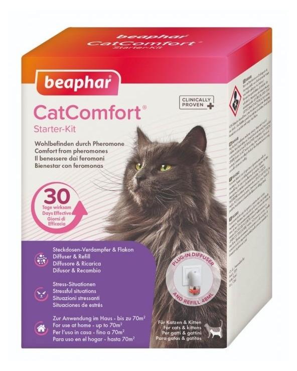 Beaphar Cat Comfort Calming Kit Diffusore + Ricarica 48 ml