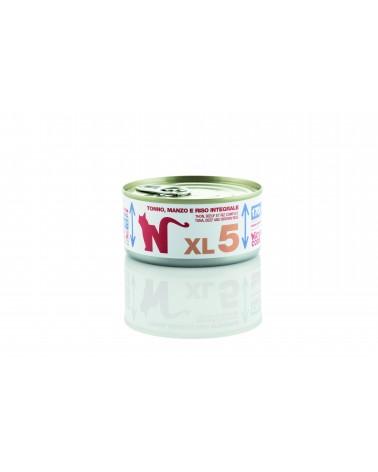 Natural Code Cat XL 05 Tonno Manzo e Riso Integrale 170 g