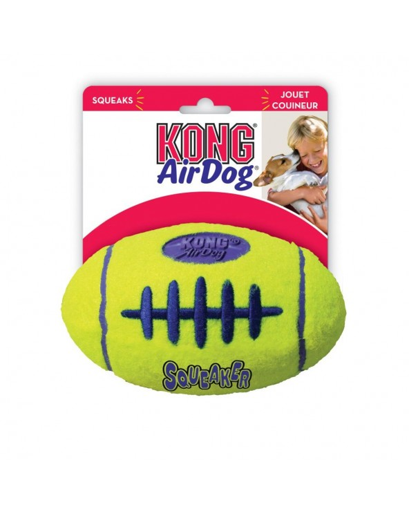 Kong AirDog® Gioco per Cani Football con Squeaker - Varie Misure