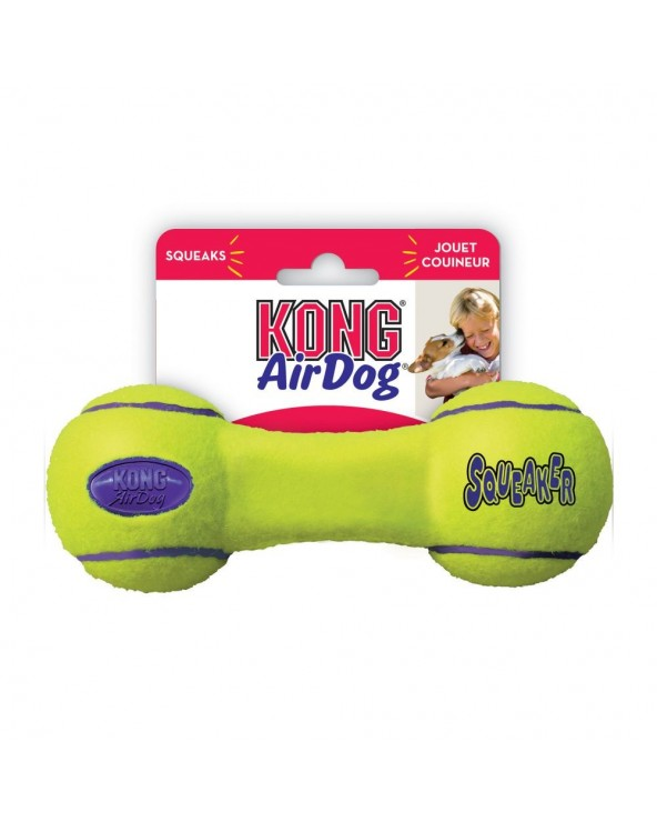 Kong AirDog® Gioco per Cani Dumbell con Squeaker - Varie Misure