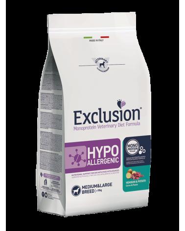Exclusion hypoallergenic cervo e patate
