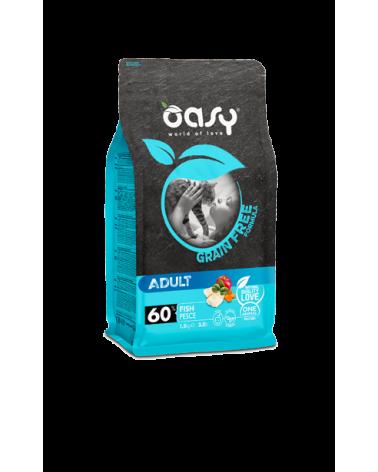 Oasy Cat Grain Free Adult con Pesce 1.5 kg