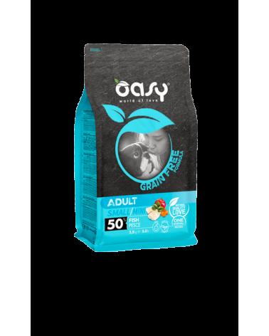 Oasy Dog Grain Free Adult Small e Mini Pesce Fresco 800 g