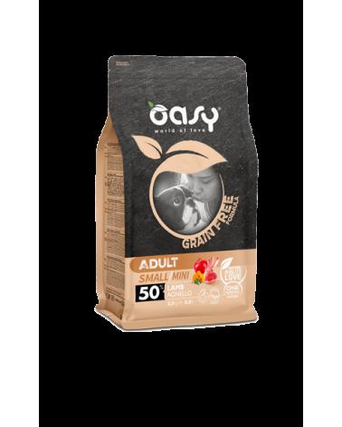 Oasy Dog Grain Free Adult Small e Mini Agnello Fresco 800 g