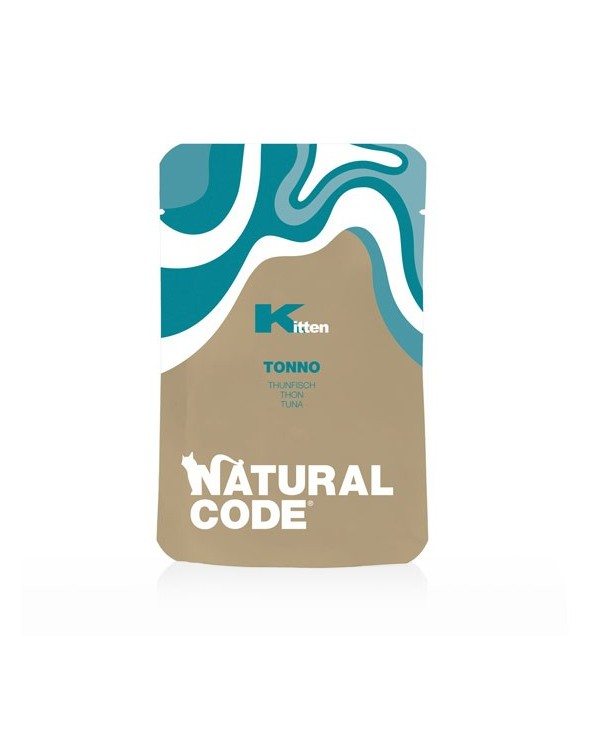 Natural Code Cat Pouches Kitten Tonno Bustina 70 g