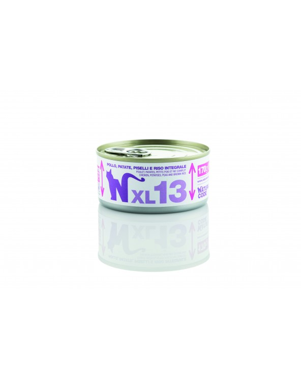 Natural Code Cat XL 13 Tonno Patate Piselli e Riso Integrale 170 g