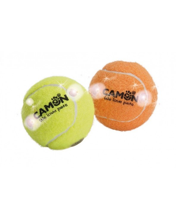 Camon Gioco per Cani Palla da Tennis Luminosa - Vari colori
