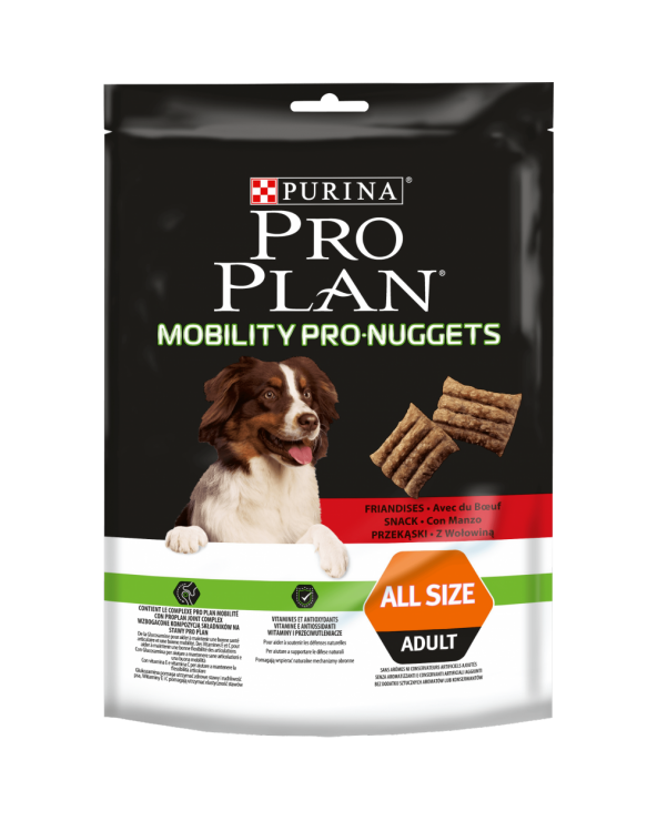 Pro Plan Dog Snack Mobility Pro Nuggets con Manzo 300 g