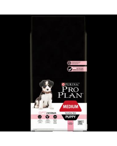 Pro Plan Puppy Medium Optiderma Salmone