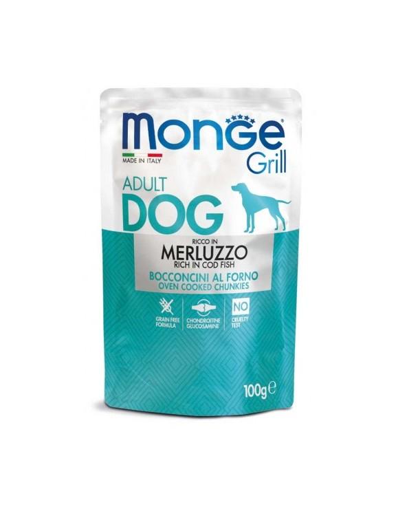 Monge Grill Bocconcini in Jelly con Merluzzo 100 g