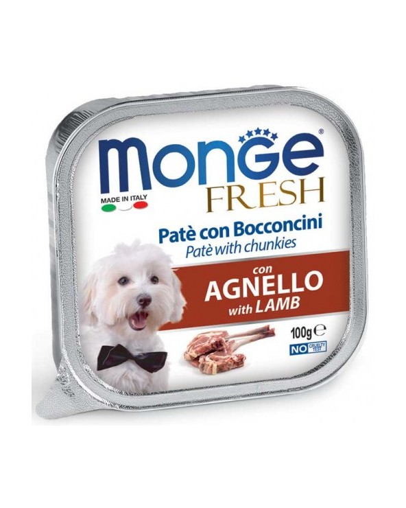 Monge Fresh Paté e Bocconcini con Agnello 100 g