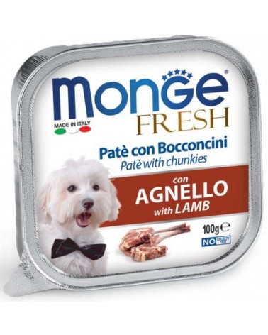 Monge Fresh Paté e Bocconcini con Agnello