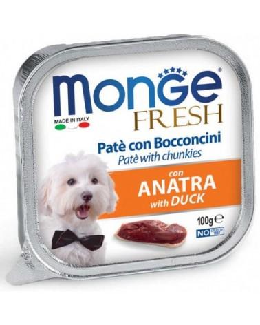 Monge Fresh Paté e Bocconcini con Anatra 100 g