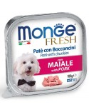 Monge Fresh Paté e Bocconcini con Maiale