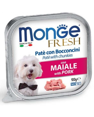 Monge Fresh Paté e Bocconcini con Maiale 100 g