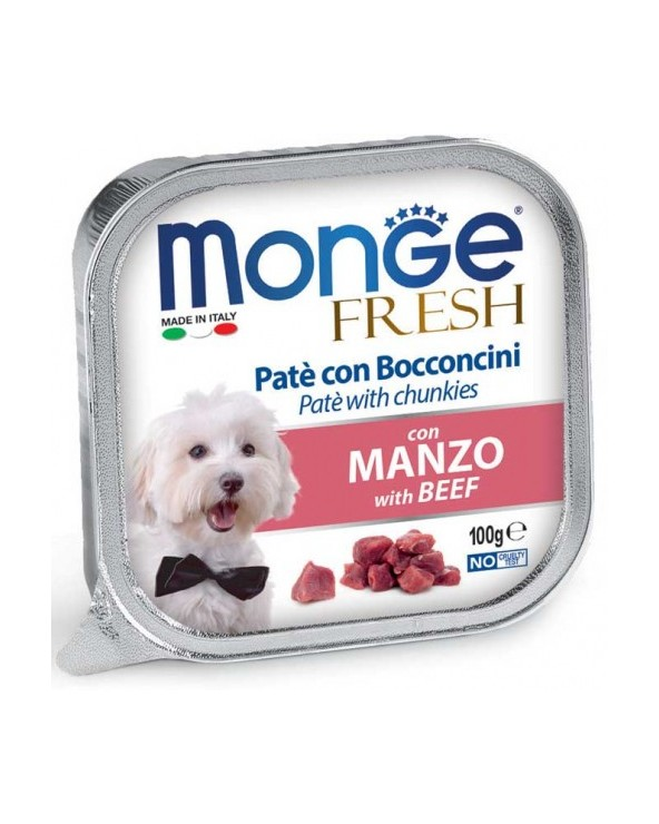 Monge Fresh Paté e Bocconcini con Manzo 100 g