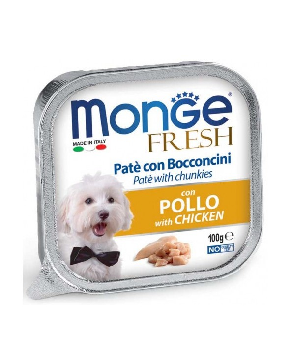 Monge Fresh Paté e Bocconcini con Pollo
