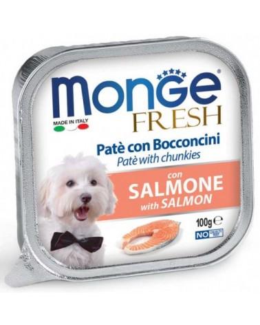 Monge Fresh Paté e Bocconcini con Salmone 100 g