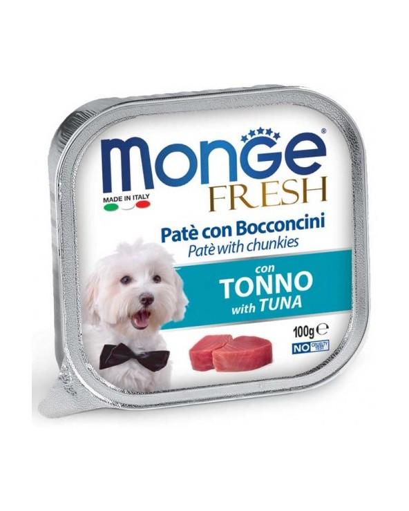 Monge Fresh Paté e Bocconcini con Tonno 100 g