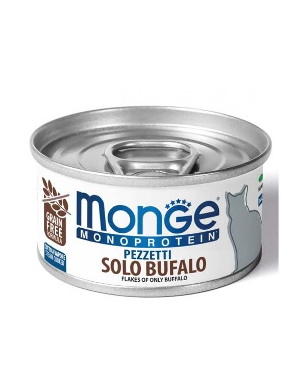 Monge Cat Pezzetti Monoprotein Solo Bufalo 80 g