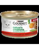 Gourmet Nature's Creations Manzo Guarnito con Piselli e Carote Lattina 85 g