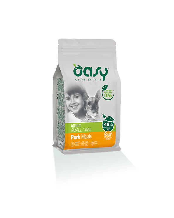 Oasy Dog OAP Adult Mini Maiale 2.5 kg