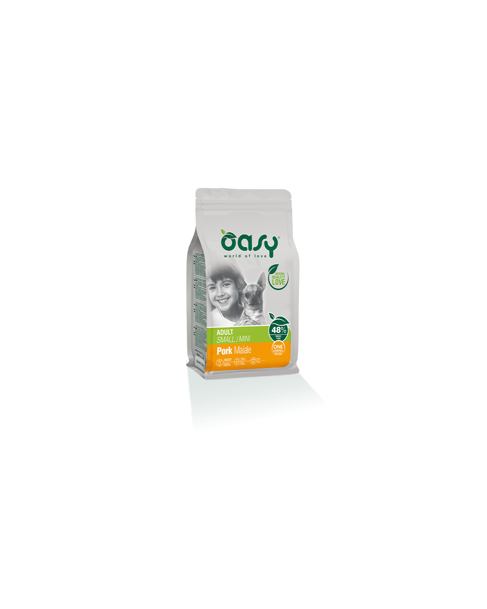 Oasy One Animal Protein - Adult Mini Maiale