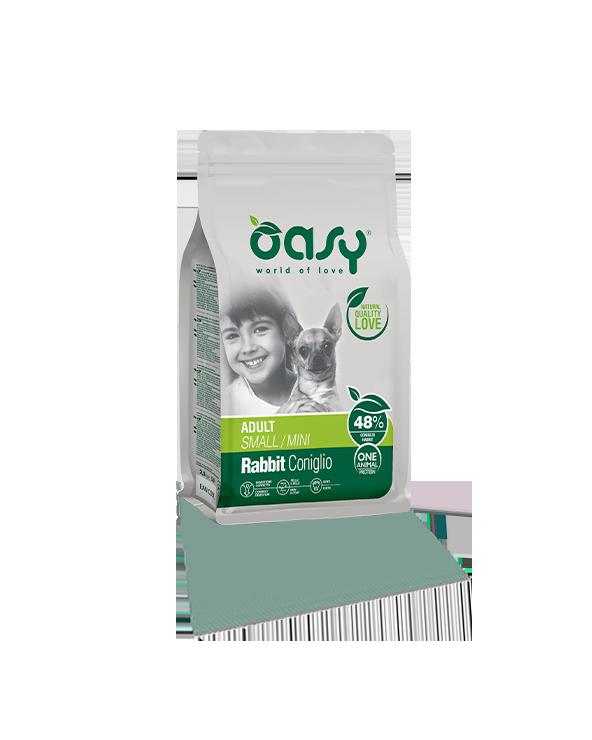 Oasy Dog OAP Adult Mini Coniglio 800 g