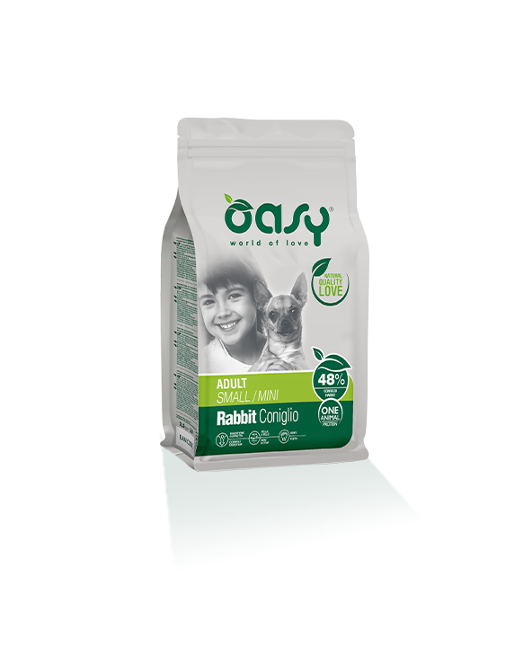 Oasy Dog OAP Adult Mini Coniglio 2.5 kg
