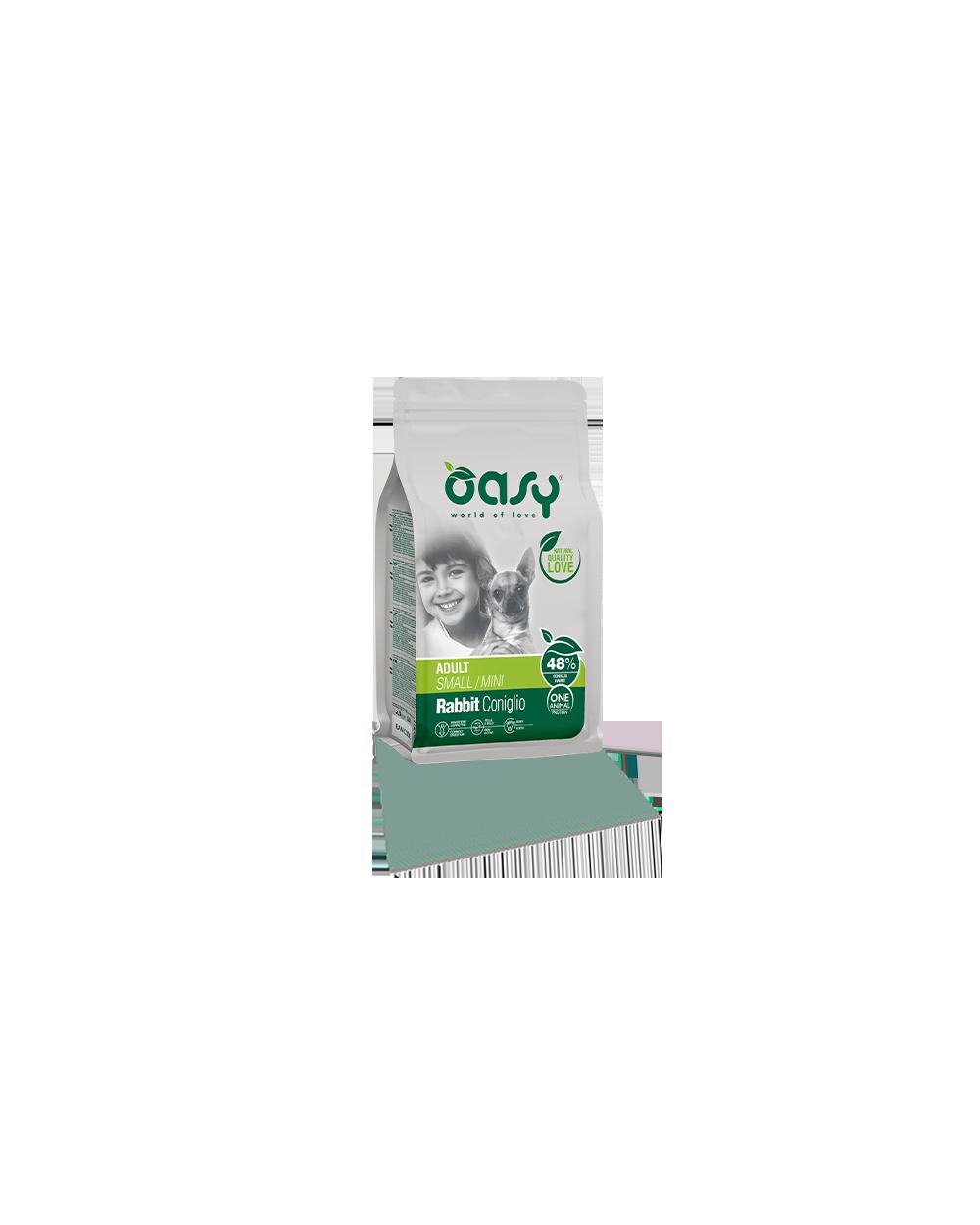 Oasy One Animal Protein - Adult Mini Coniglio