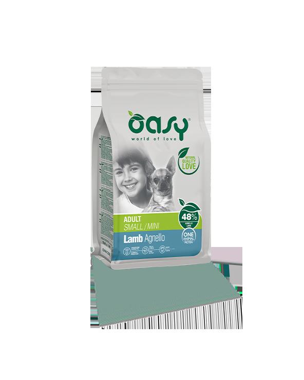 Oasy Dog OAP Adult Mini Agnello 800 g