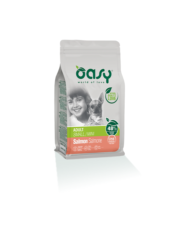 Oasy Dog OAP Adult Mini Salmone 800 g